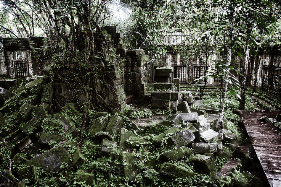Cambodia - beng-mealea-temple-in-cambodia