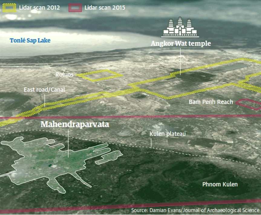 Cambodia - Angkor Wat - new cities found under jungle