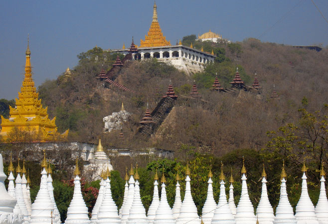Mandalay on the Irrawaddy River