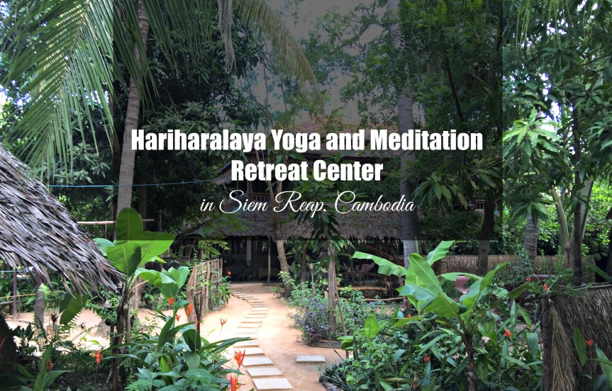 Hariharalaya Yoga and Meditation Retreat Center in Siem Reap, Cambodia