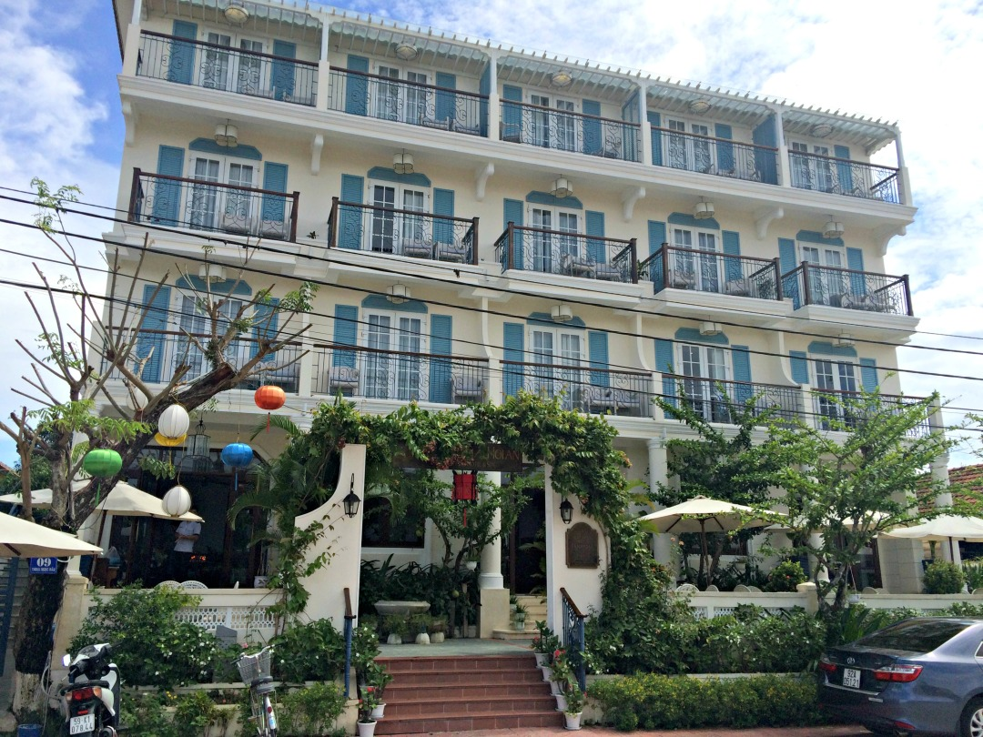 The lovely Lantana Hoi An Boutique Hotel.
