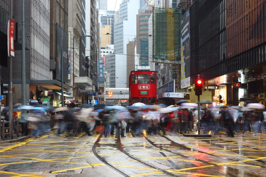 travel-traffic-rain-central-hong-kong-china