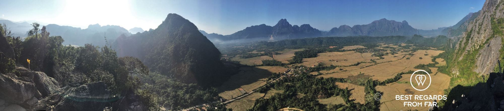 Exploring rural Vang Vieng and its caves, Laos