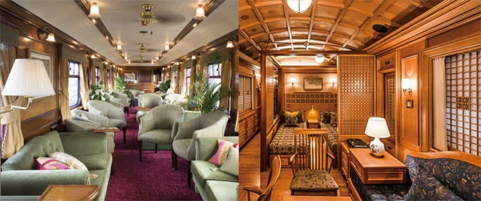 6 luxurious trains that'll spoil you